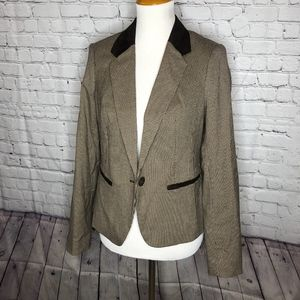 The Limited Herringbone Blazer